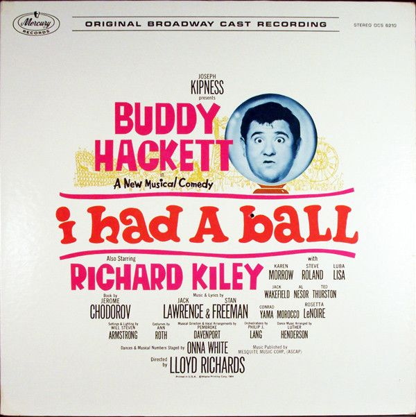 Buddy Hackett - I Had A Ball (Original Broadway Cast Recording): buy LP at Discogs