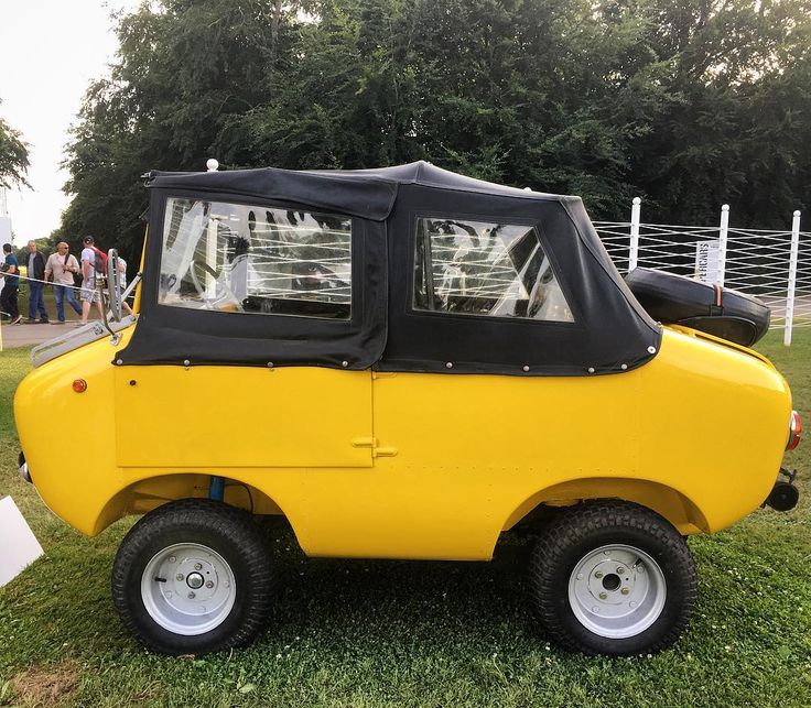 This 1967 Ferves Ranger designed by Carlo Ferrari was built using #Fiat 500 and 600 parts. Of the 600 built only 50 still exist. #GoodwoodFoS
