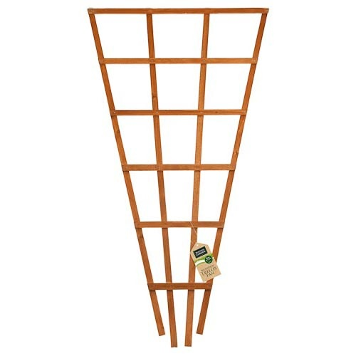 Wooden Trellis Fan