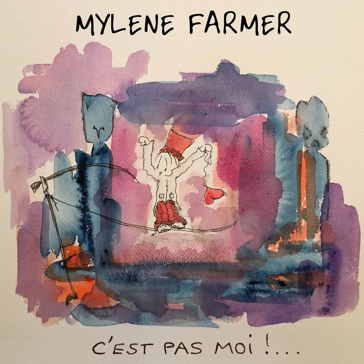 Mylène Farmer - C'est pas moi est le troisième single extrait de l'album Interstellaires - Mylene.Net