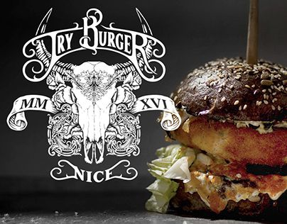 "Check out new work on my @Behance portfolio: ""Try Burger branding"" http://be.net/gallery/38632747/Try-Burger-branding"