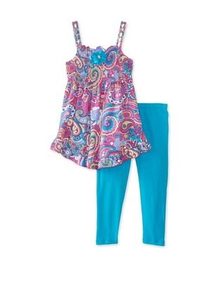 57% OFF ABS by Allen Schwartz Girl's Kendra 2-Piece Set (Purple Multi)