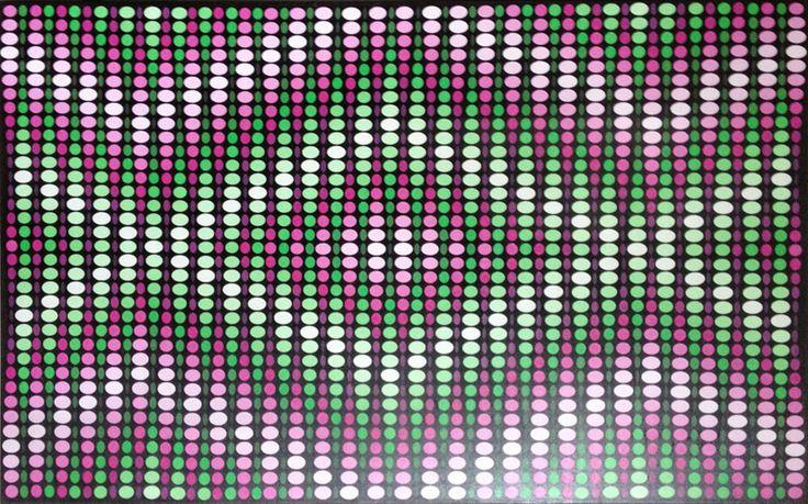 Magenta Green Pattern