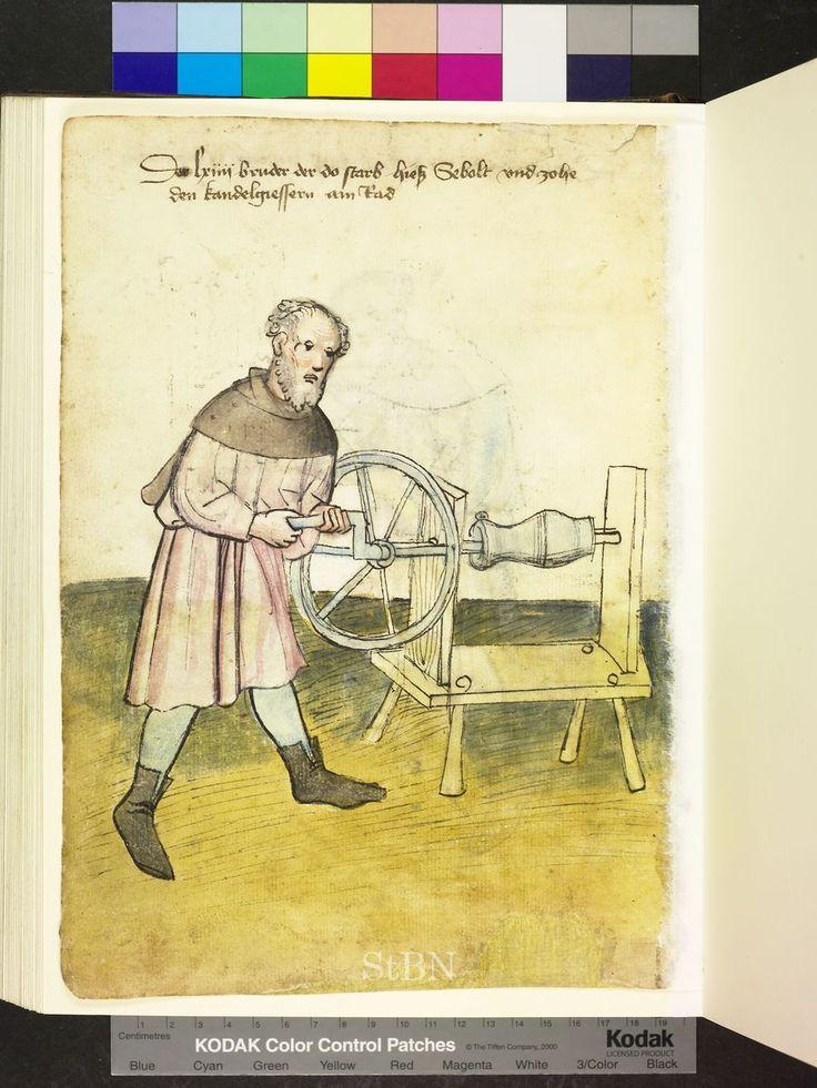 Mendel Housebook, Amb. 317.2° Folio 29 verso, c 1425, Nuremberg (Nürnberg)