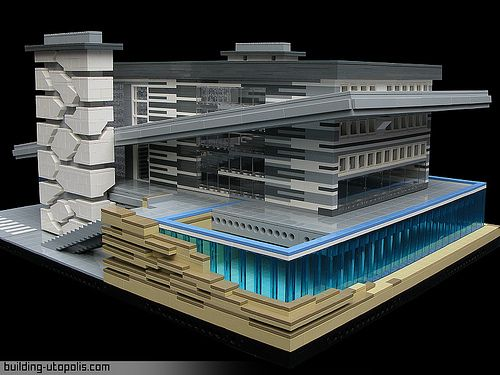 Architecture Lego 25 Best Lego Architecture Ideas On Pinterest  Lego Creations .