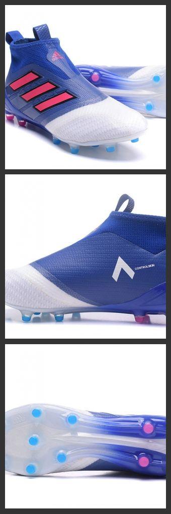 le Scarpa da Calcio Adidas ACE 17+ Purecontrol FG Blu Rosso Bianco incorporano la tecnologia Boost sulla suola che crea un sistema di ammortizzazione supermorbido e offre un ritorno di energia impareggiabile per un'ottima prestazione sul campo.