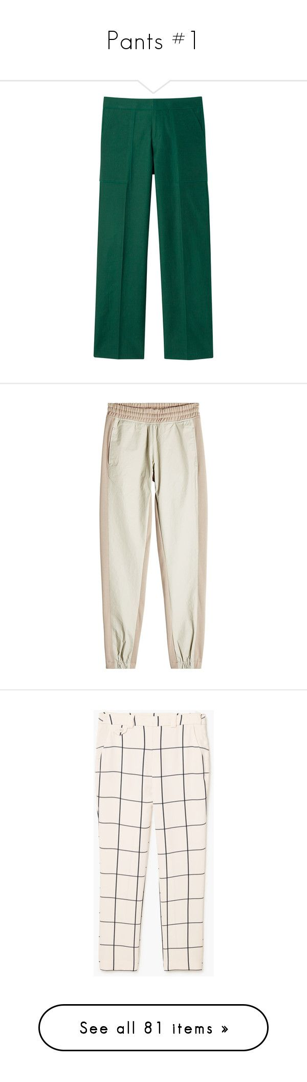 """""""Pants #1"""" by banana-lee ❤ liked on Polyvore featuring pants, activewear, activewear pants, beige, adidas originals, track pants, pantalones, side zip pants, pink trousers and mango trousers"""