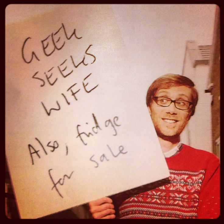 Stephen Merchant, seek no more, for here I am.