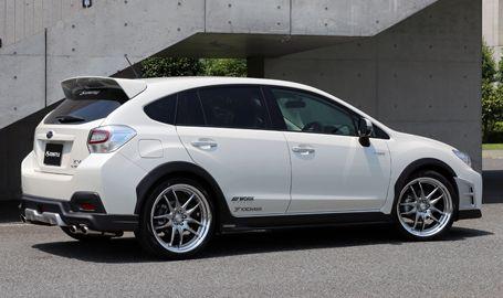 SUBARU XV / CROSSTREK BODYKIT | Subaru | Pinterest ...