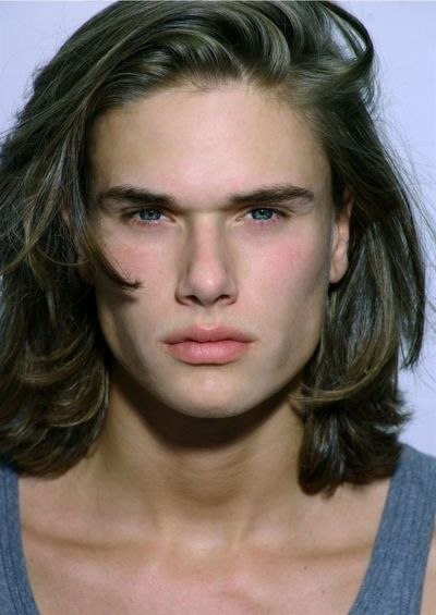 Sexy Rebellious Long Hairstyle for Men
