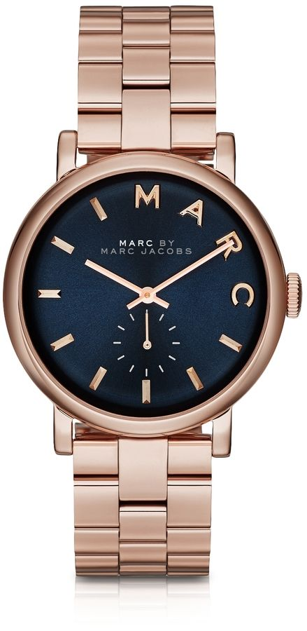 Marc Jacobs | Baker Bracelet 36MM Navy Blue Dial Women's Watch