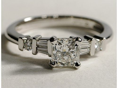 14 best princess cut rings images on pinterest princess for Hendrickson s fine jewelry