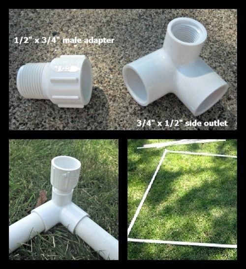 Build A PVC Playhouse For Under $50