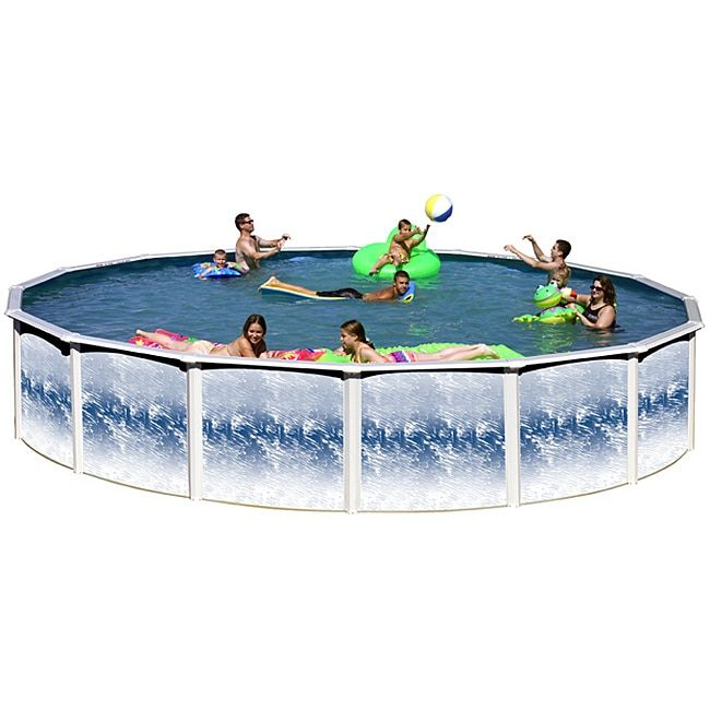 N Yorkshire 27-foot All-in-1 Above Ground Swimming Pool Kit