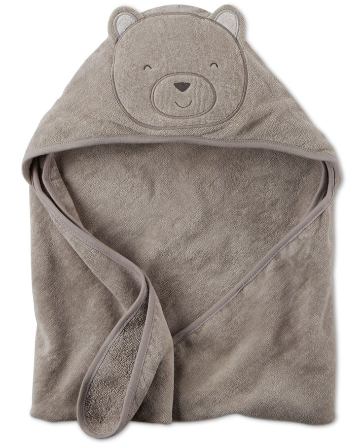Carter's Baby Boys' Hooded Bear Towel