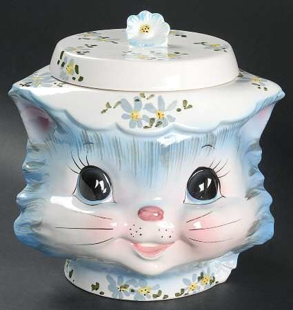 ... to this day, I think of her when we eat homemade scotch shortbread cookies and this very similar cookie jar <3