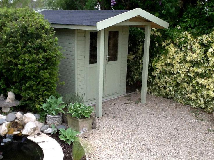 32 best posh garden sheds images on pinterest garden for Pretty garden sheds