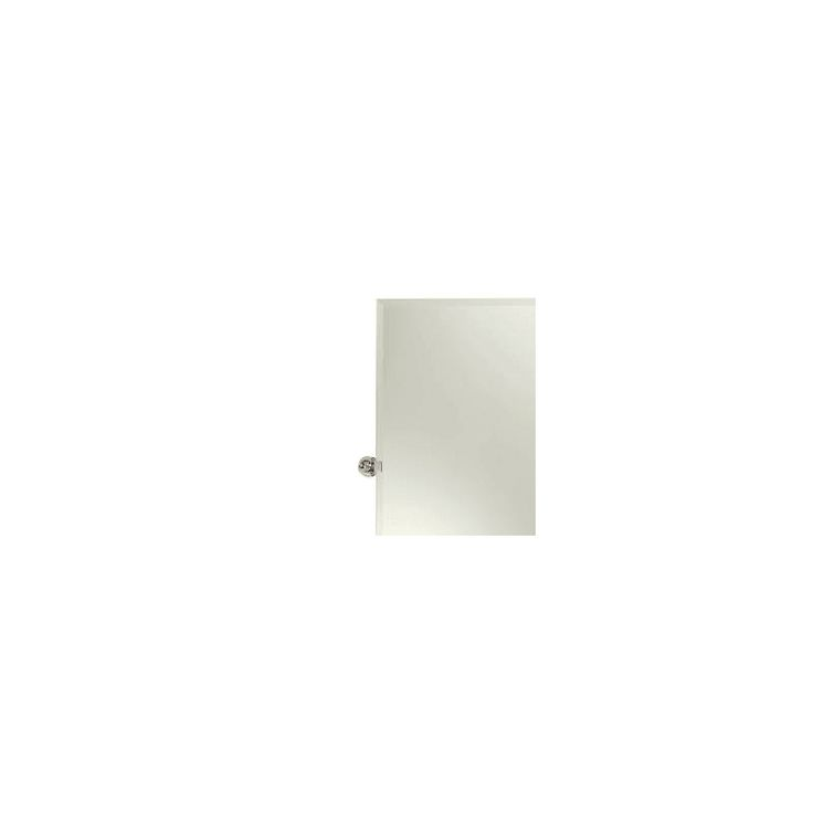 Ginger 0142N City 212 Frameless Mirror Polished Chrome Home Decor Mirrors Wall