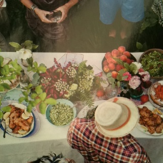 Spring lunch outside in the south ---pinned by Producing Edibles, Facebook.com/producingedibles #tablesetups