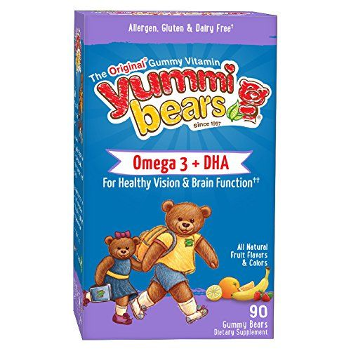 Yummi Bears Omega 3   DHA Supplement for Kids, 90 Gummy Bears -- More details @ http://www.amazon.com/gp/product/B002BR5R0S/?tag=homeimprtip08-20&pjk=040816005213