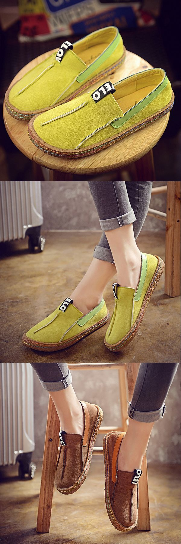US$22.69 + Free shipping. Casual Soft Sole Flat Loafers, women flat,women casual flats,women loafers.