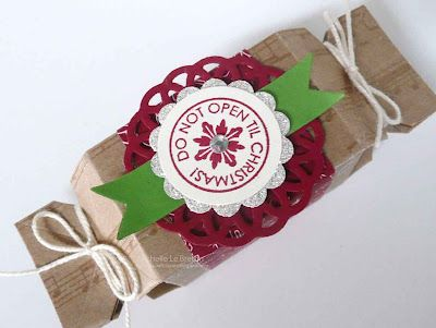 Stampin' Up! Christmas by Michelle Le Breton Candy Wrapper