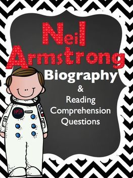 Neil Armstrong Freebie!  Use this freebie if your students are studying Neil Armstrong OR if your students are learning about biographies.   If you enjoy this freebie, please check out my entire Diary of Famous American Unit. The unit includes 11 posters.