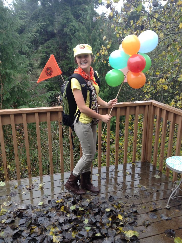 My DIY Russel Wilderness Explorer costume. From the movie UP!