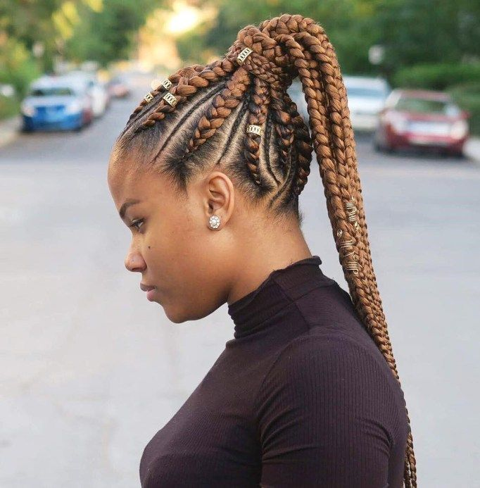 70 Best Black Braided Hairstyles That Turn Heads In 2020