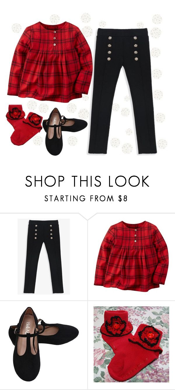 """""""Little Girl-Holiday Casual"""" by jfcheney ❤ liked on Polyvore featuring Bardot Junior and Carter's"""
