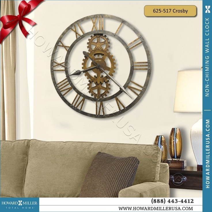 17 best images about howard miller wall clocks on antique brass modern wall clocks