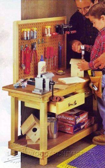 las 25 mejores ideas sobre small workbench en pinterest
