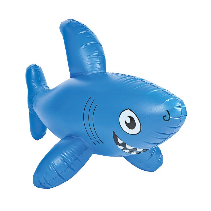 Giant Inflatable Shark - OrientalTrading.com