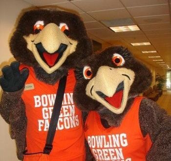Freddie and Frieda Falcon: Bowling Green State University