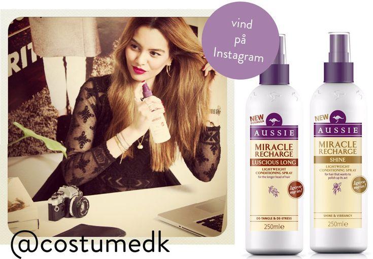Vind Aussie produkter på Instagram - Costume.dk