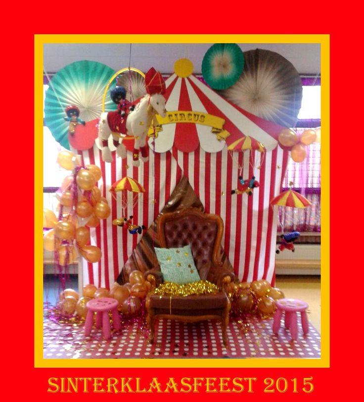 sinterklaas thema circus!