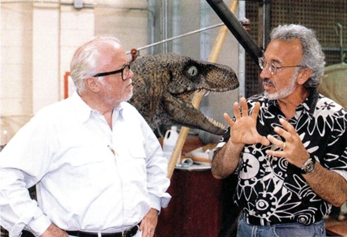 Richard Attenborough and Stan Winston.