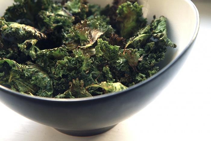 Kale chips. Kiitos Hyvää | Trendi