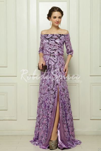 Le paillettes malaise satin robe de soirée violette [Vitoria1305160035] - €193.75 : Robe de Soirée Pas Cher,Robe de Cocktail Pas Cher,Robe de Mariage,Robe de Soirée Cocktail.