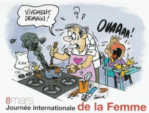 Humour: la journée internationale de la femme en images & bd - 2015