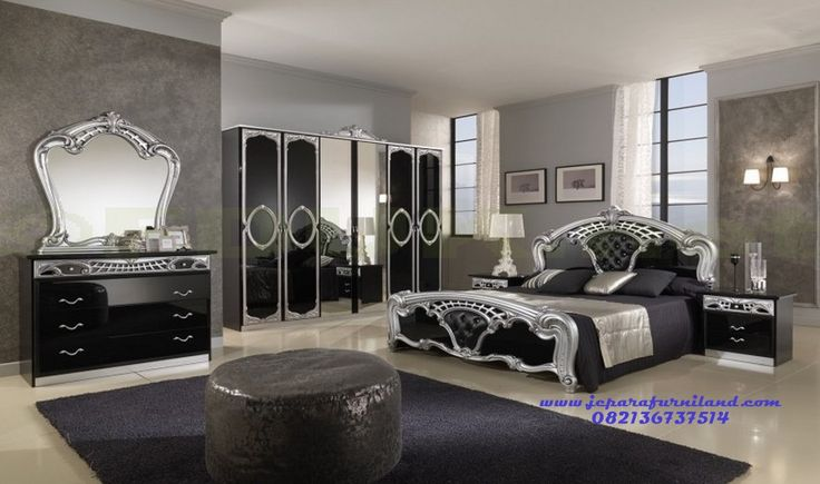 Set Kamar Tidur Utama Modern Klasik Jangkaru
