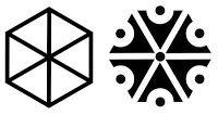 Gromoviti znaci, ou marcas do trovão, como essas, são antigos símbolos de Perun que eram gravados nos telhados das casados para proteger das tempestades. Esse formato hexagonal pode ser um sinal da existência das maçãs do trovão e, portanto, do fenômeno das bolas de raios.