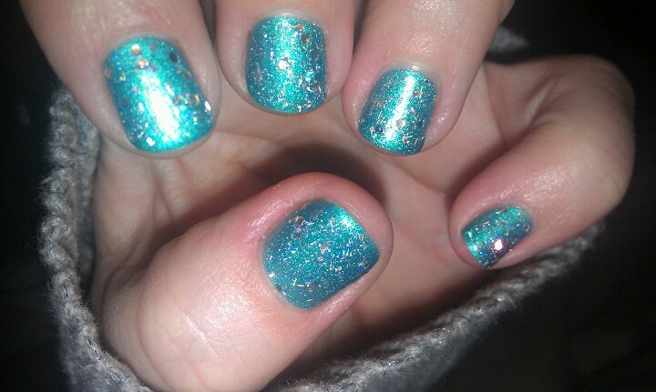 My nails. H2T SHELLAC | Nail me | Pinterest