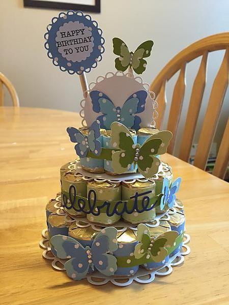 Hershey Nugget Birthday cake