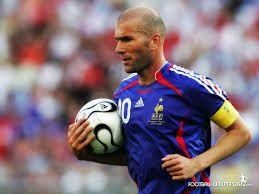 Este pin se trata de Zidane uno de los mejores jugadores de Francia.