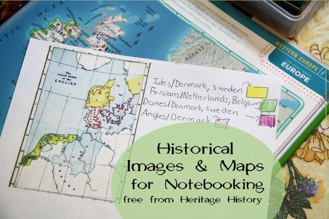 Locating notebooking pages for history