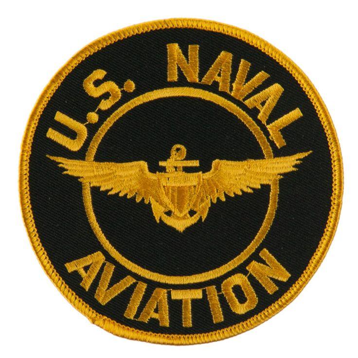 US Navy Circular Large Patch - Naval Aviation