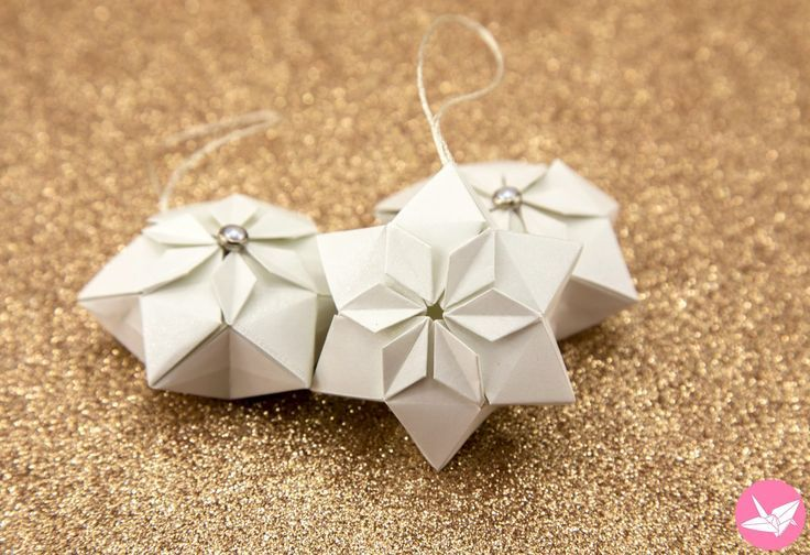 Origami Hexagonal Puffy Star Tutorial – Paper Kawaii