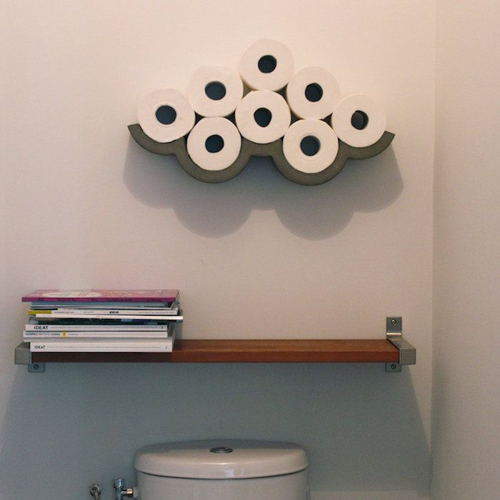 Best 25 wc design ideas only on pinterest small toilet design toilet ideas and guest toilet - Etagere murale pour wc ...