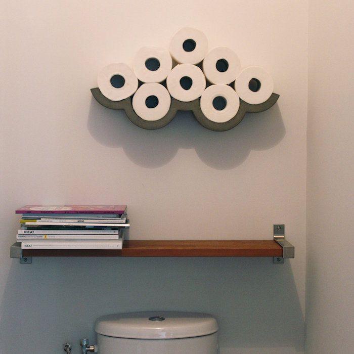 Meer dan 1000 idee n over etagere wc op pinterest tag re natte ruimtes en meuble toilette - Deco van wc ...